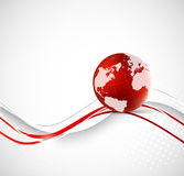 Abstract background with earth. This is file of EPS10 format Royalty Free Stock Photo