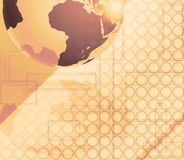 Abstract background Earth globe Stock Photo