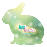 Abstract background in the Easter Bunny Stock Photography