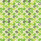 Abstract background of eco web icons Royalty Free Stock Images