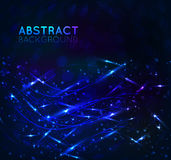 Abstract background with effects Stock Image