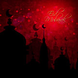 Abstract background for eid mubarak festival Royalty Free Stock Photography