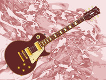 Abstract Background Electric Guitar Royalty Free Stock Photography