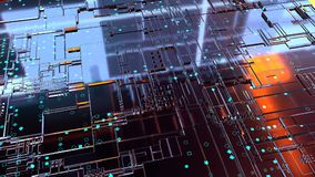 3D Abstract Background. Render Royalty Free Stock Image