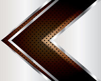 Abstract background elegant metallic. Royalty Free Stock Photo