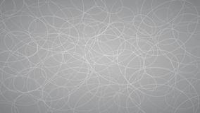 Abstract background of elipses. Abstract background of randomly arranged contours of elipses in gray colors Stock Image