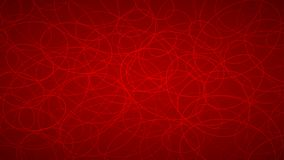 Abstract background of elipses. Abstract background of randomly arranged contours of elipses in red colors Royalty Free Stock Photo