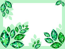Abstract Background With Emeralds Stock Photos
