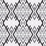 Abstract background in ethnic style. Scandinavian motifs. Seamless pattern of geometric shapes Stock Photos