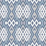 Abstract background in ethnic style. Scandinavian motifs. Seamless pattern of geometric shapes Royalty Free Stock Images