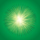 Abstract background. Explosion. Vector drawing. Vibrant circle fantasy midpoint flower drawing shape art design. Big fuzzy magic sphere form effect in modern vector illustration