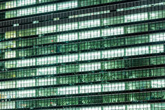 Abstract Background of exterior modern office building Stock Photos