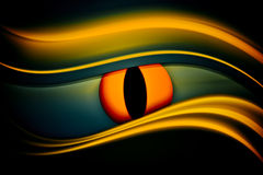 Abstract background eye. Curved lines abstract background, eye Royalty Free Stock Photography