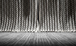 Abstract background. Fabric texture Curtains. Royalty Free Stock Photography