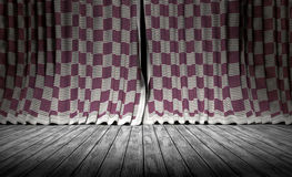 Abstract background. Fabric texture Curtains. Stock Image