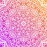 Abstract background, fantastic flower. Abstract background in bright colors. Fantastic flower, oriental floral patterned mandala. Vector illustration stock illustration