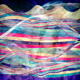 Abstract background fantastic waves. Fashion fantastic abstract colorful background with beautiful waves royalty free illustration