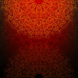 Abstract background with a fantasy pattern Stock Images