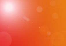 Abstract background. Abstract fantasy red background with bokeh lights Royalty Free Stock Image