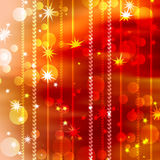 Abstract background of festive. Bands and spots of light with the stars Royalty Free Stock Image