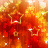 Abstract background of festive. Bands and spots of light with the stars Stock Image