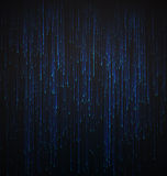 Abstract Background Fiber Optic Trace Blue Signal Stock Image