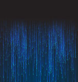 Abstract Background Fiber Optic Trace Blue Signal. Vector Royalty Free Stock Photos
