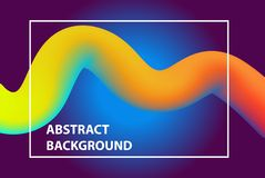 Abstract background, figure and line. Brochure cover of web pa stock illustration