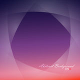 Abstract background filled purple and red gradient. With light smooth layers on sides Stock Illustration