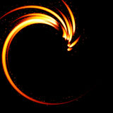 Abstract background-fire shape. Royalty Free Stock Images