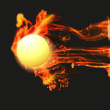 Abstract background with fire. Abstract background with vector fire Royalty Free Stock Photo