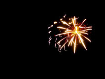 Abstract Background Fireworks:Light & Color Splash Royalty Free Stock Photography