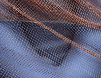 Abstract background. Fishnet. Royalty Free Stock Image
