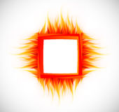 Abstract background with flame. Bright illustration Royalty Free Stock Photos