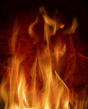 Abstract background with  flames Royalty Free Stock Image