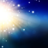 Abstract background. With flashes and rays Stock Photos