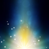Abstract background. With flashes and rays Royalty Free Stock Photo