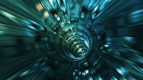Background with flight in sci-fi tunnel with fantastic lights. Abstract background with flight in sci-fi tunnel with fantastic lights vector illustration