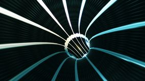 Background with flight in sci-fi tunnel with fantastic lights. Abstract background with flight in sci-fi tunnel with fantastic lights Royalty Free Stock Photos
