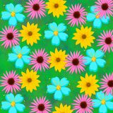 Abstract background floral Stock Photos