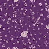 Abstract background with floral elements. For your design Stock Photo