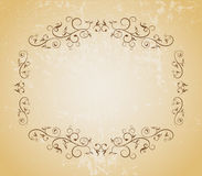 Abstract background. Floral template -  web design element Royalty Free Stock Photos