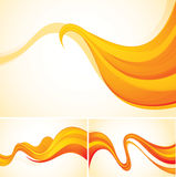 Abstract background. Flow abstract background series, file format EPS 10 Royalty Free Stock Photography