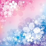 Abstract background with flower Stock Photos