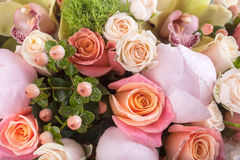 Abstract background of flowers. Royalty Free Stock Photos
