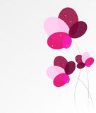 Abstract background with Flowers. Vector Illustration. EPS10 Stock Images