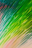 Abstract Background flowing color through milk Stock Image