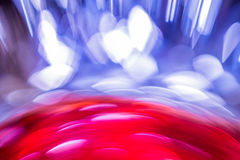 Abstract Background flowing color over tin foil Stock Images