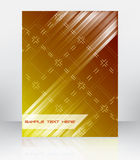 Abstract  background for flyer, brochure or cover design. With place for your content Royalty Free Stock Photo
