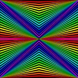 abstract background in the form of colored rays stock illustration